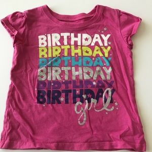 Children's Place Birthday Shirt